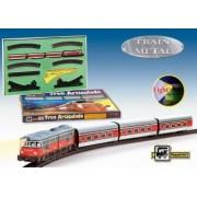 Trenulet electric calatori Articulado cu macaz
