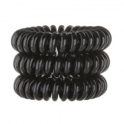 InvisiboBBle Power Hair Ring gumice za kosu 3 kom nijansa True Black