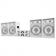 Electronic-Star Set White Star Series 'Arctic Winter Pro' DJ PA 2400W (PL-AU-WH-2400-4.0)