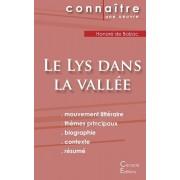 Fiche de lecture Le Lys dans la valle (Analyse littraire de rfrence et rsum complet), Paperback/Honore De Balzac