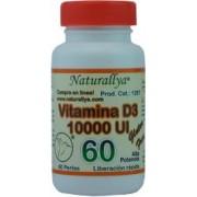 Vitamina D3 10,000 UI - 60 perlas