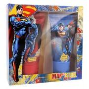 DC Comics Superman Duschgel 150 ml + Shampoo 150 ml für Kinder