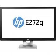 Monitor LED HP EliteDisplay E272q 27 inch 7ms Black Silver