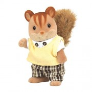 Father of Sylvanian Families Doll Walnut Walnut Squirrel Squirrel Family (Japan Import)