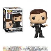 James Bond [The Spy Who Loved Me]: Funko POP! Movies x James Bond Vinyl Figure + 1 Classic Movie Trading Card Bundle [#522]