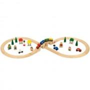 Set Tren Cu Cale Ferata Circulara