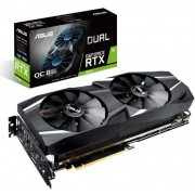 Asus NVIDIA Dual GeForce RTX 2070 OC edition 8GB GDDR6 256-bit Graphics Card