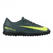 Zapatos Fútbol Hombre Nike Mercurial Vortex III CR7 TF-Negro Con Amarillo