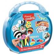 Kreatív készségfejlesztő készlet, MAPED CREATIV, Early age, varázslatos cirkuszvilág (IMAC907005)