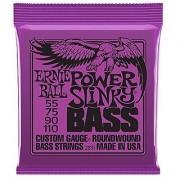 Ernie Ball Power Slinky Nickel Wound Bass Set .055 - .110