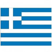 Shoppartners Stickers van de Griekse vlag