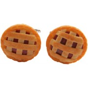 Meat Lattice Pie Cufflinks