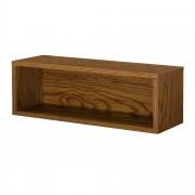 [en.casa]® Variabilní designový systém - skříňky / poličky - 45x15x15 cm - imitace ořechového dřeva