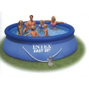 Intex 366x76cm puhafalú medence 2m3/h vízforgatóval 28132