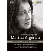 Martha Argerich: A Piano Evening with Martha Argerich [DVD] [2011]