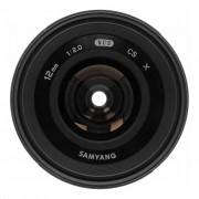 Samyang 12mm 1:2.0 NCS CS para Fujifilm X negro - Reacondicionado: como nuevo 30 meses de garantía Envío gratuito