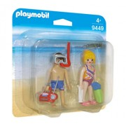 Playmobil Family Fun, Set 2 figurine - oameni la plaja