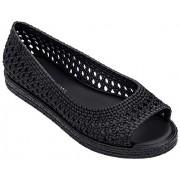 melissa Camilla + Jason Wu Zapatos Planos para Mujer, Negro, 7 US