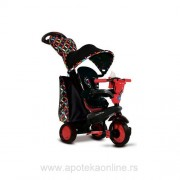 SMART TRIKE TRICIKL BOUTIQUE 4u1- CRVENI