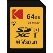 Kodak High Speed SDXC 64 GB SD Card Class 10 95 MB/s Memory Card