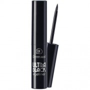 Dermacol Ultra Black Eyeliner 2,8 ml tekuté očné linky pre ženy