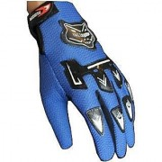 Knighthood Bike Riding Gloves - Blue 04
