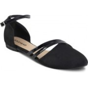 SOLE HEAD Women Black Flats
