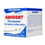 Favident praf nespumant cu coenzima Q10 q006 50ml FAVISAN