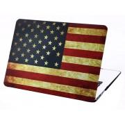 Mobigear Hard Case Vintage US Flag voor Apple MacBook Air 13 inch