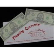 Zwevend geldbiljet