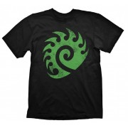 Starcraft Zerg Logo Vintage Тениска - Размер S