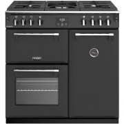 Stoves Richmond S900G 90cm Gas Range Cooker with Electric Fan Oven - Anthracite - A/A Rated