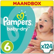 Pampers outlet Baby-Dry - Maat 6 (Extra Large) 15+ kg - Maandbo