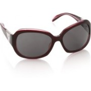Celine Dion Over-sized Sunglasses(Grey)