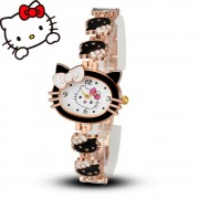 Detské hodinky Hello Kitty čierné