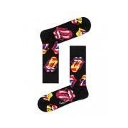 Happy Socks-Sokken-Rolling Stones Out Of Control Sock-Zwart