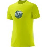 Salomon X ALP Graphic SS T-shirt Amarillo S