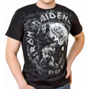 Iron Maiden: The Number of the Beast Grey Tones (tricou)
