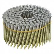 NORFIX Pointes en Rouleau NORFIX 16° Plat Galvanisées à Chaud (zinc 50 µ / 5000 Pointes) - Taille - 50 mm x 2.5
