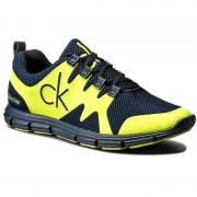 Сникърси CALVIN KLEIN JEANS - Murphy SE8525 Navy/Yellow Fluo