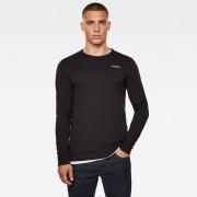 G-Star RAW Heren Base-R T-Shirt Zwart - Heren - Zwart - Grootte: Medium