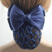AliExpress LNRRABC Blauw Haarbanden Stewardess Bank Personeel Verpleegkundige Professionele Netwerk Bloem Clip Bows Hoofddeksels Vrouwen Haaraccessoires
