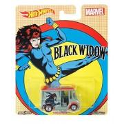 Hot Wheels Marvel Bread Box Black Widow Vehicle