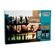 STR8 Live True 50 ml sada voda po holení 50 ml + deodorant 150 ml + sprchový gel 250 ml pro muže