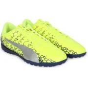 Puma evoPOWER Vigor 4 GRAPHIC TT Football Shoes For Men(Yellow)