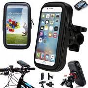 Vízálló Univerzális biciklis/ kerékpáros telefon tartó XXL 18x11 cm