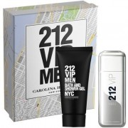 Set Cadou Carolina Herrera 212 Vip Men (Gramaj: 100 ml, Concentratie: Parfum + Gel dus)