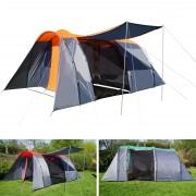 Campingzelt HWC-A99, 6-Mann Zelt Kuppelzelt Festival-Zelt, 6 Personen ~ Variantenangebot