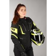 IXS Giacca Donna Tour Powells-ST Nero-Giallo Fluo