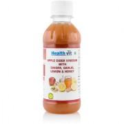 Healthvit Apple Cider Vinegar With Ginger Garlic Lemon Honey 250ml